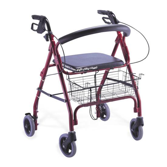 واکر چهار چرخ صندلی دار کایانگ 9144