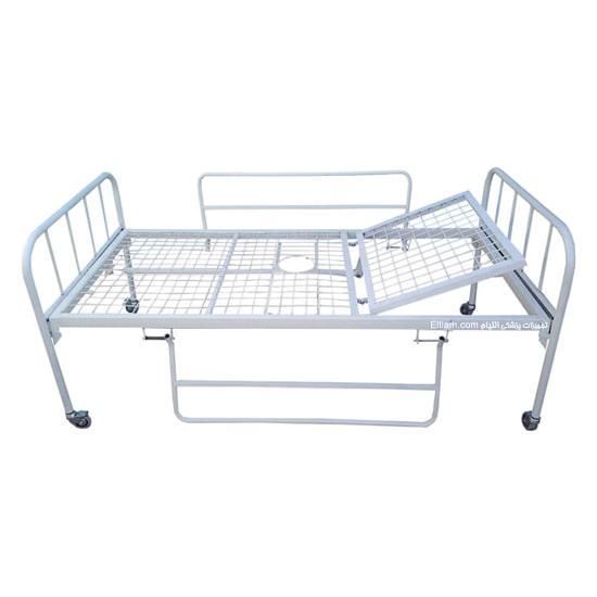 تخت بیمار خانگی تک شکن حفاظ دار
