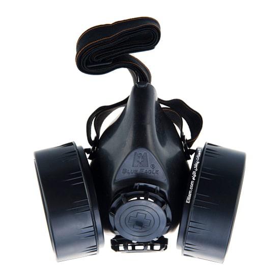 ماسک شیمیایی دابل فیلتر بلو ایگل Np306