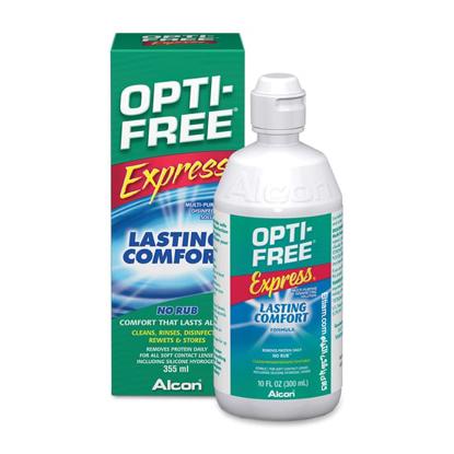 محلول لنز اپتی فری Express