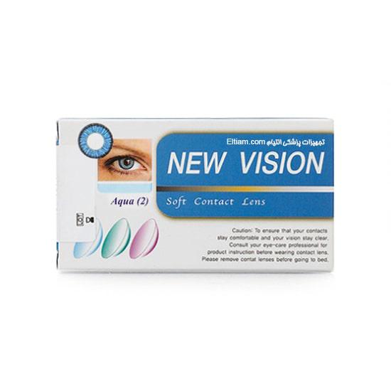 لنز چشمی آبی نیوویژن Aqua2