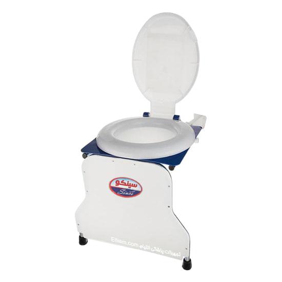 توالت فرنگی دیواری تاشو قیف دار سینکو