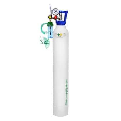 کپسول اکسیژن 10 لیتری با مانومتر طبی