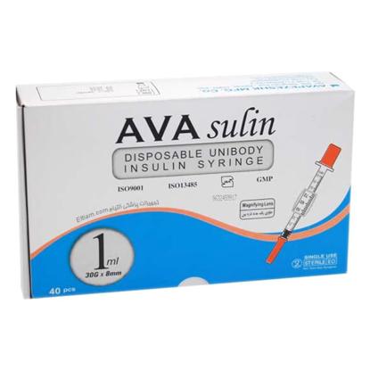 سرنگ انسولین آوا 1ml