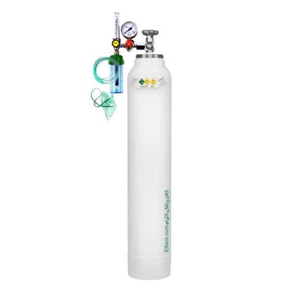 کپسول اکسیژن 20 لیتری با مانومتر طبی